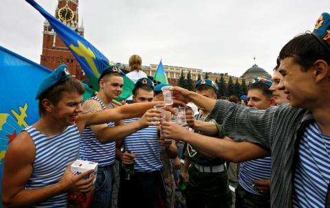 Russian vodka consumption has dropped by more than 50% in the past 20 years