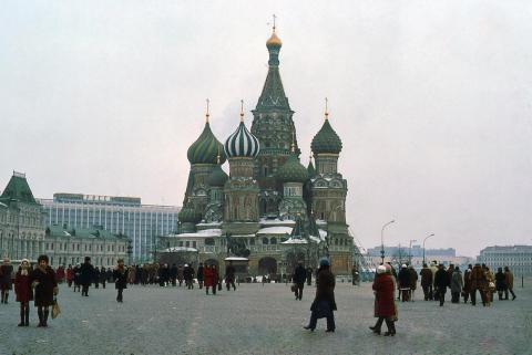 Russia's economic output plummeted 45% in the decade after the Soviet Union broke up.