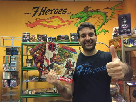 Salva Espín, ilustrador de cómics de MarvelSalva Espín, ilustrador de cómics de Marvel