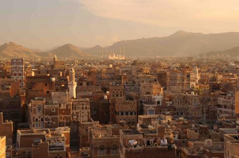 Sanaa, Yemen.