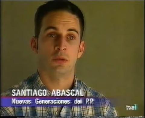 Santiago Abascal Joven