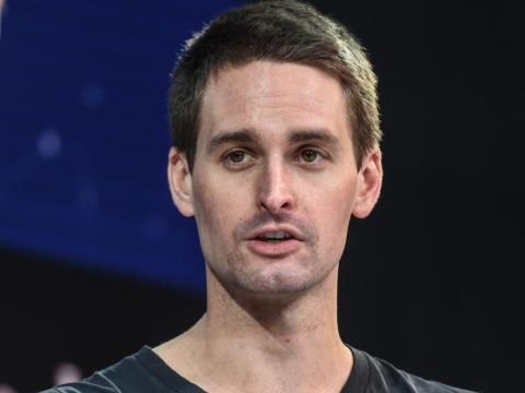 Snap CEO Evan Spiegel.