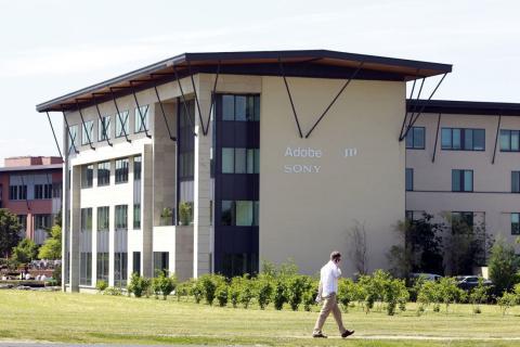 Sede de Adobe en el sur de Dublín