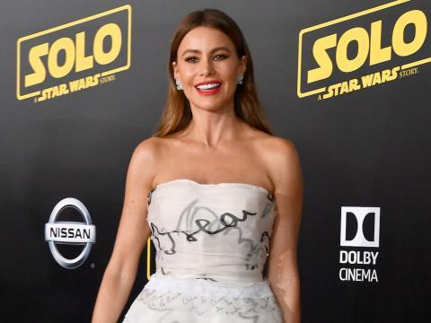 Sofía Vergara en la premier de 'Solo' en 2018