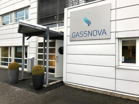 Sede de GassNova en Porsgrunn, Noruega en Agosto de 2017.