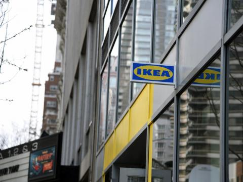 Ikea's Manhattan planning studio.