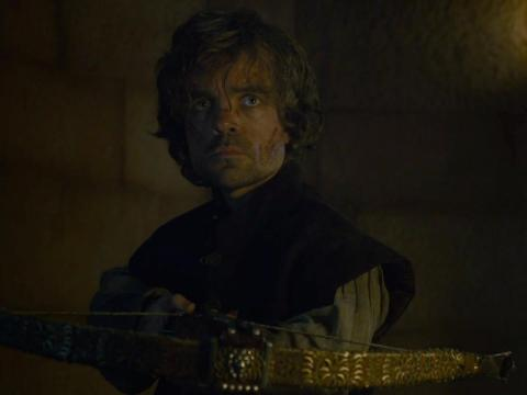 Tyrion famously used a crossbow to kill Tywin Lannister.