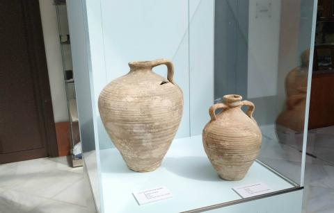Vasijas del museo de Osuna.