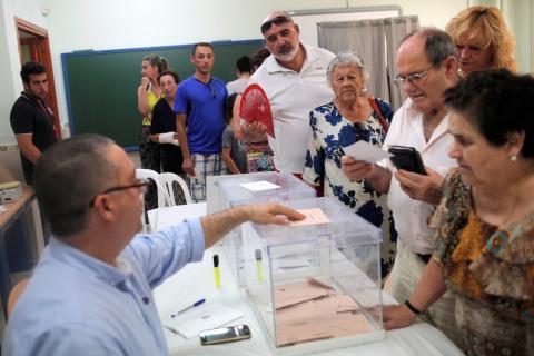 así ha cambiado la forma de votar d elos españoles