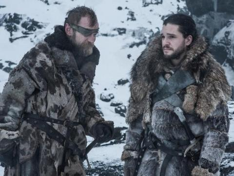 Beric and Jon were both resurrected by the Lord of Light's prayers.