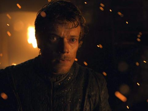 Theon couldn't make good on his earlier promise to protect his sister against harm.