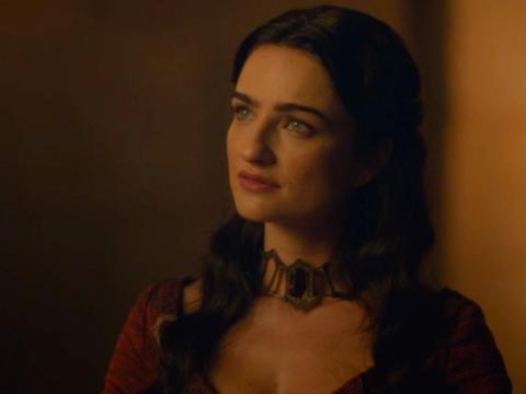 Kinvara and Melisandre are in Volantis, in Essos.
