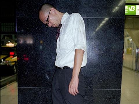 Mientras que la mayoría de los sujetos que fotografió estaban profundamente dormidos ...