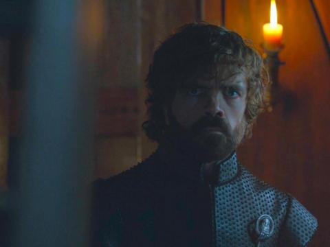 Tyrion appeared to have reservations when he saw Jon and Daenerys together on the finale of season seven.