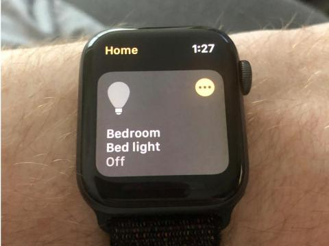 19. Your Apple Watch can control your smart-home lights.