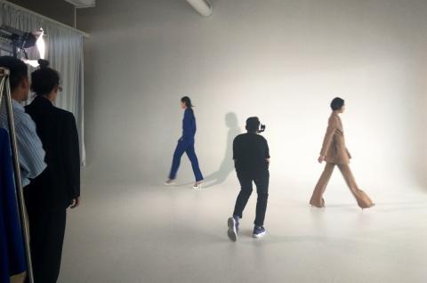 Zara studios video dos modelos