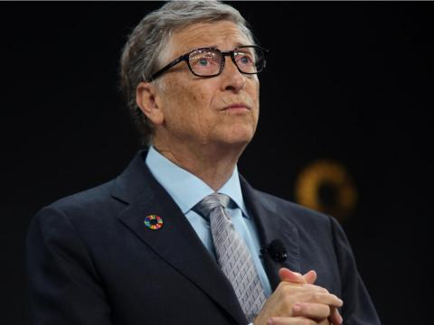 1. Bill Gates ha aumentado su fortuna en casi 12 mil millones de dólares solo en el último año.