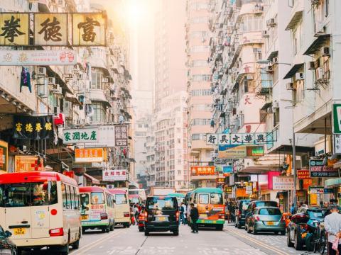 1. Cost of 1 liter of gas in Hong Kong, Hong Kong: $2.04