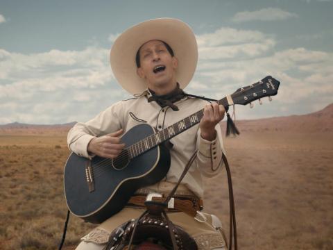 13. 'La balada de Buster Scruggs'
