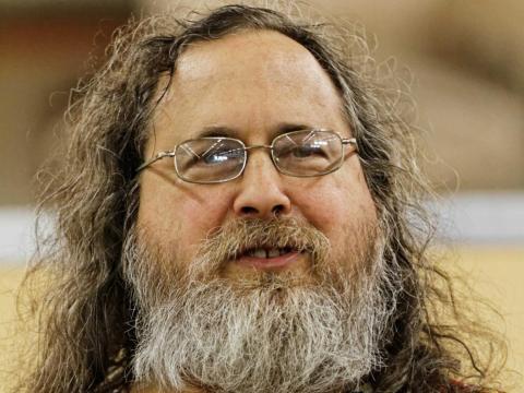 15. Richard Stallman, presidente y fundador de Free Software Foundation