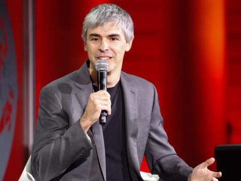 17. Larry Page, CEO de Alphabet y cofundador de Google