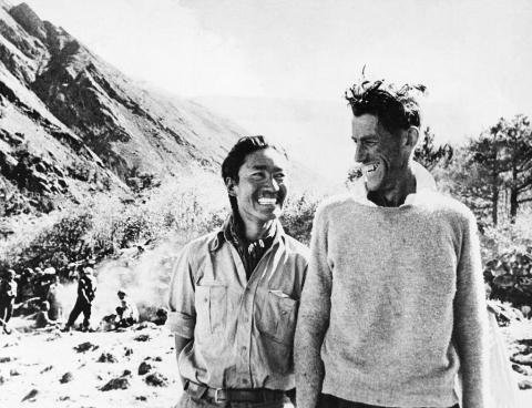 In 1953, Sherpa Tenzing Norgay, 38, and Edmund Hillary, a 33-year-old beekeeper, became the first human beings to reach the summit of Mount Everest.