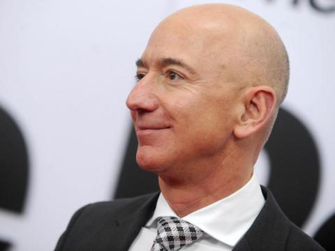 2. Jeff Bezos, CEO y fundador de Amazon