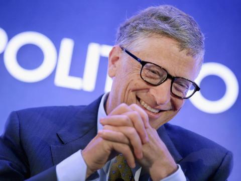 3. Si Gates gasta un millón de dólares al día, le llevaría más de 285 años gastar su fortuna, según los cálculos de Business Insider.