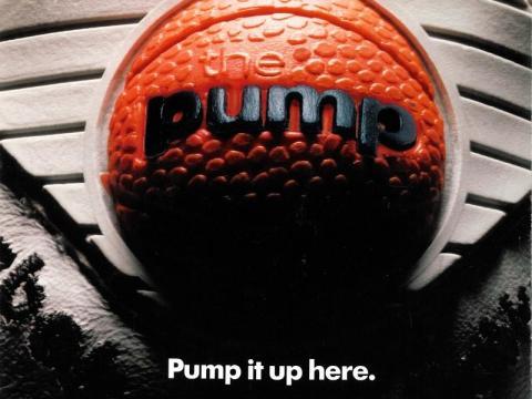 5. La década de 1980 también marcó la primera aparición de Reebok PUMP, una zapatilla diseñada para inflarse para adaptarse mejor a tu pie.