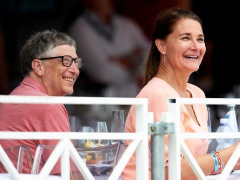 Bill ay Melinda Gates.