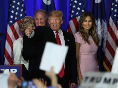 6. The Trump campaign has a massive war chest.