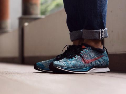 8. Nike Flyknit cambió la industria de las zapatillas deportivas con su avance textil.