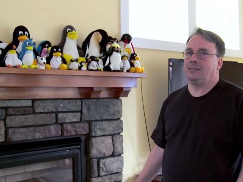 9. Linus Torvalds, creador de Linux