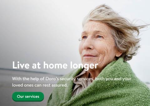 Una abuela en la publicidad del Doro.