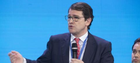 Alfonso Mañueco, candidato del PP a la presidencia de Castilla y León