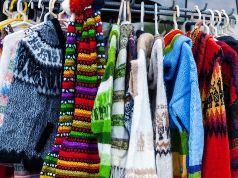 Suéteres de alpaca