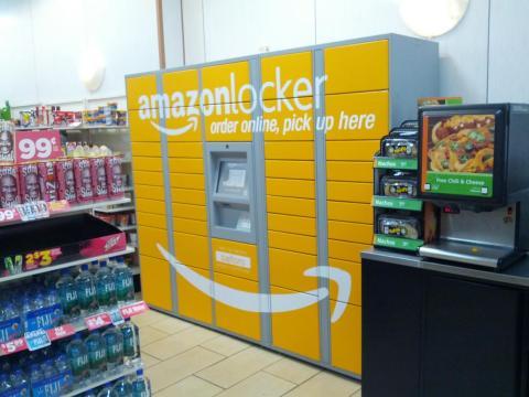 Un Amazon Locker.