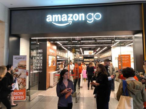 Amazon opened its first New York-based Go store earlier this month.