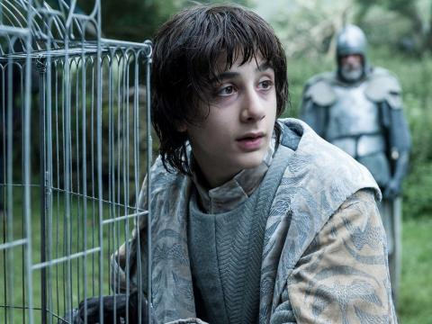 Lord Robin Arryn of the Vale sat out the show's multiple battles but returned to help name Bran king.