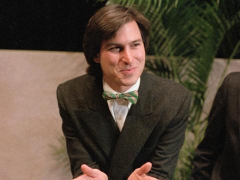 El cofundador de Apple Steve Jobs - Edad 21