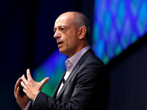 Simon Segars, the CEO of Arm.