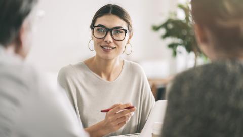 Asesora financiera