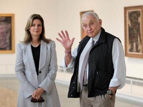 Wexner and his wife Abigail both sit on the board of directors.