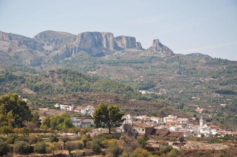 Benimantell, provincia de Alicante