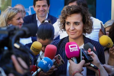 La cabeza de lista del PP para las Elecciones Europeas, Dolors Montserrat