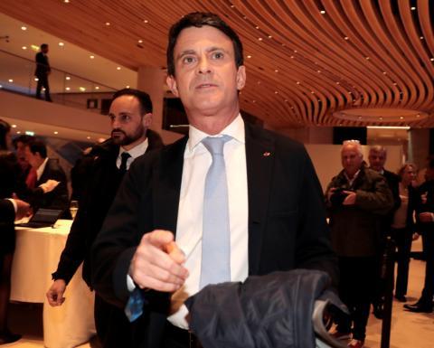 El candidato de Ciudadanos a la alcaldía de Barcelona, Manuel Valls.