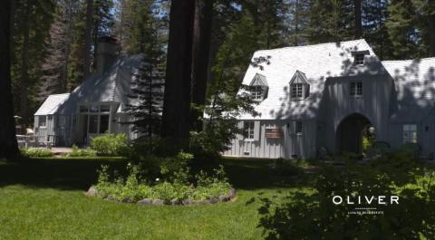 The Carousel Estate sits on 3.5 acres in Lake Tahoe's west shore outside Tahoe City.