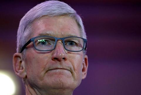 CEO Tim Cook is attempting to transform Apple into a services company.
