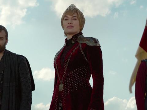 Cercei Lannister en el 8x04 de Juego de Tronos