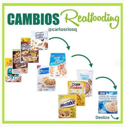 cereales recomendados Carlos Ríos